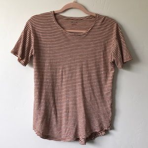 Madewell striped tee Size:S